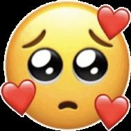 Koszulka Sad Love Emoji Damska