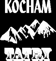 Kocham Tatry - Męska Koszulka Z Nadrukiem