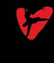 I Love Dance - damska koszulka z nadrukiem dla tancerki