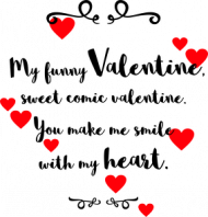 My funny Valentine - kubek walentynkowy z kolorowym uchem
