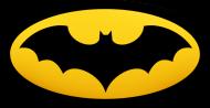 Maseczka kolorowa z nadrukiem - batman