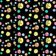 Maseczka kolorowa - wzór lato, maseczka z nadrukiem