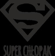 Super Chłopak - złoty kubek na Dzień Chłopaka - Superman