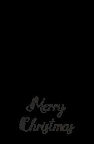 Merry Christmas - świąteczna torba z nadrukiem