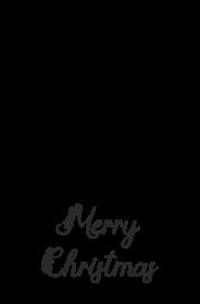 Merry Christmas - świąteczna poszewka na poduszkę