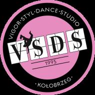 VSDS MINI koszulka treningowa różowe logo