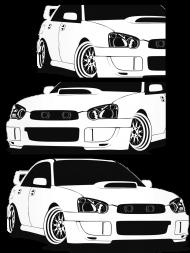 Poszewka Subaru