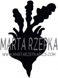 GEOMETRY czarne-białe - T-shirt damski