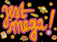 JEST MEGA! Czapka z rożowym daszkiem
