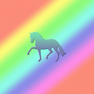 MAGNES SERCE Z KONIEM - Rainbow Dressage Horse ©DH
