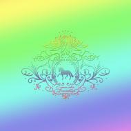 EKO TORBA FULLPRINT TĘCZOWY Z KONIEM - Rainbow Dressage Horse ©DH