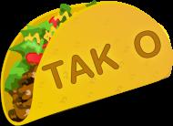 Taco TAK O Baseball T-shirt