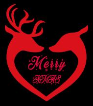 Wesołych Świąt Renifery Hoodie