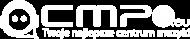 Plecak Czarny Mały z Logo Cmp3.eu