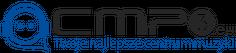 Kubek z Logo Cmp3.eu - Blue