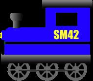 """Kubek z kolorowym uchem """"SM42"""""""