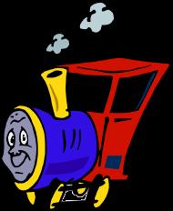 """Koszulka dziecięca """"Wesoła lokomotywa"""""""