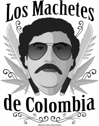 Koszulka Los Machetes Biała (męska)