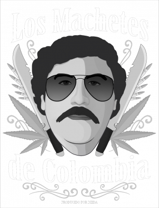 Bluza Los Machetes Czarna (męska)