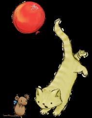 Kubek z kotem i myszką