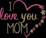 Torba bawełniana na dzień matki - I love you mom