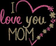 Miś dla mamy - I love you mom