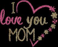 Magnes dla mamy - I love you mom