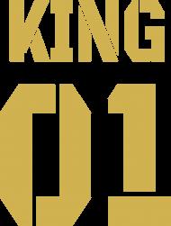 Bluza King 01 Czarna Gold