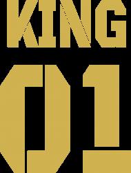 Bluza King 01 z Kapturem Gold