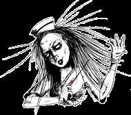 Koszulka męska Dark Nurse