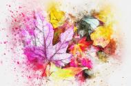 lniana jesienna maseczka  7