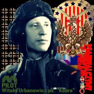 Bluza męska Dywizjon 303 - gen. bryg. pil. d-ca dyw. 303 Witold Urbanowicz czarna