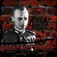"Koszulka męska ""Rotmistrz Witold Pilecki"" szara"
