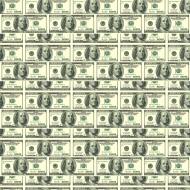 maseczka w banknoty 100 dolarowe