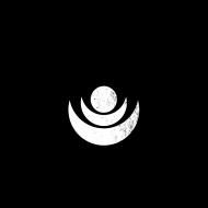 czarno biała maseczkaz nadrukiem