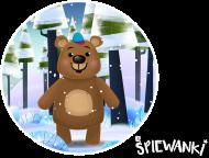 Niedźwiadek - koszulka dla chłopca - śpiewanki.tv