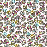"Maseczka kolorowa ""Zombie Skull 2"""