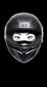 Motocyklistka - Moto Girl