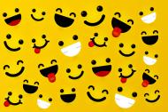 maseczka maska dzieci dziecięca uśmiech smile fajna emotki emot ikonki śmieszna zabawna