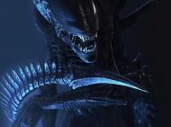 maseczka maska  męska damska alien obcy horror