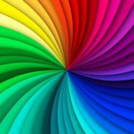 maseczka kolorowa z wzorem kolory