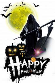 Koszulka męska Happy Halloween 001