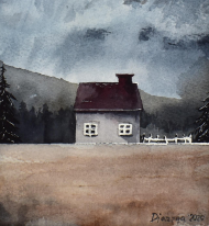 Samotny domek damska