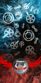 "Komin-Buff ""Bike Parts V1"" Logo RS"