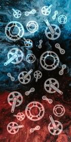 "Komin-Buff ""Bike Parts V1"" brak Logo"