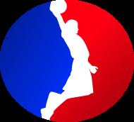 Basketball player RED_BLUE bluza
