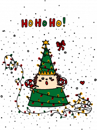 Świąteczny bodziak - Igloo i Choinka