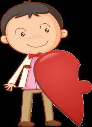 Puzzle love - Boy