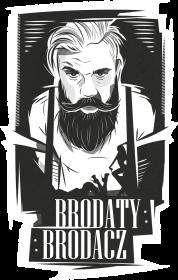 Bluza czarna Brodaty Brodacz by brodatystyl.pl