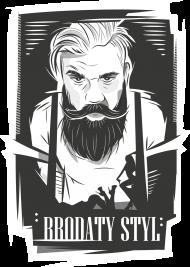 Koszulka czarna brodaty styl by brodatystyl.pl